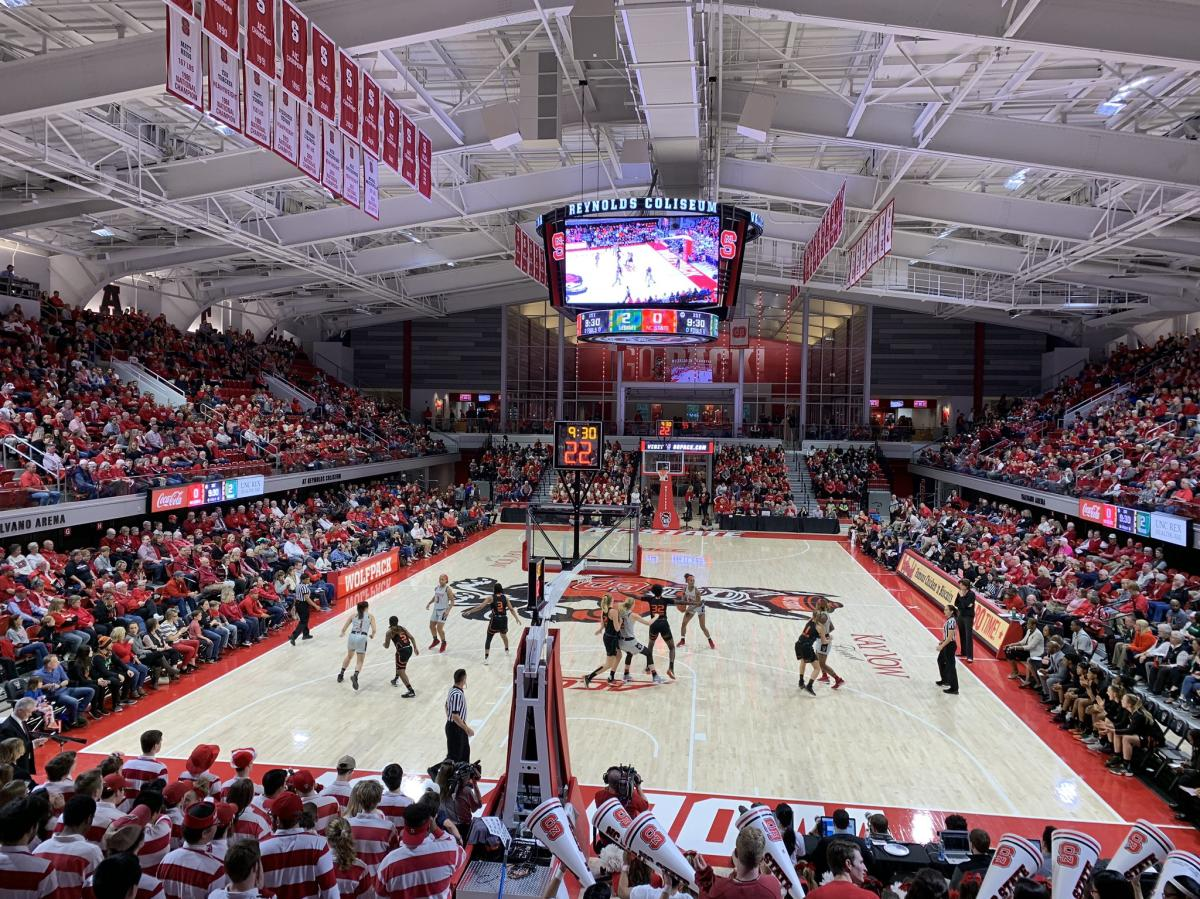 NC State Basketball Reynolds Coliseum