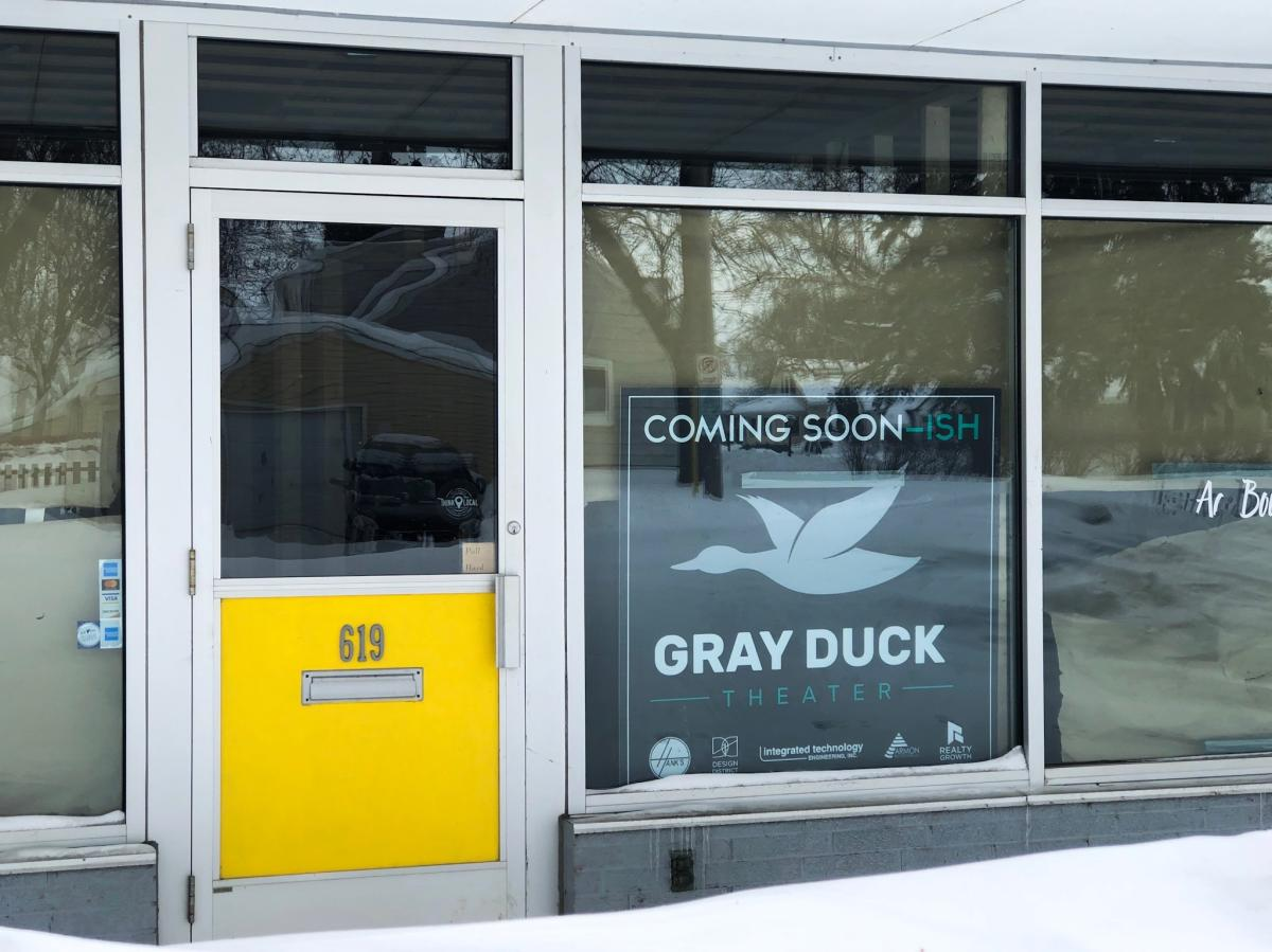 Gray Duck Theater in Rochester, MN