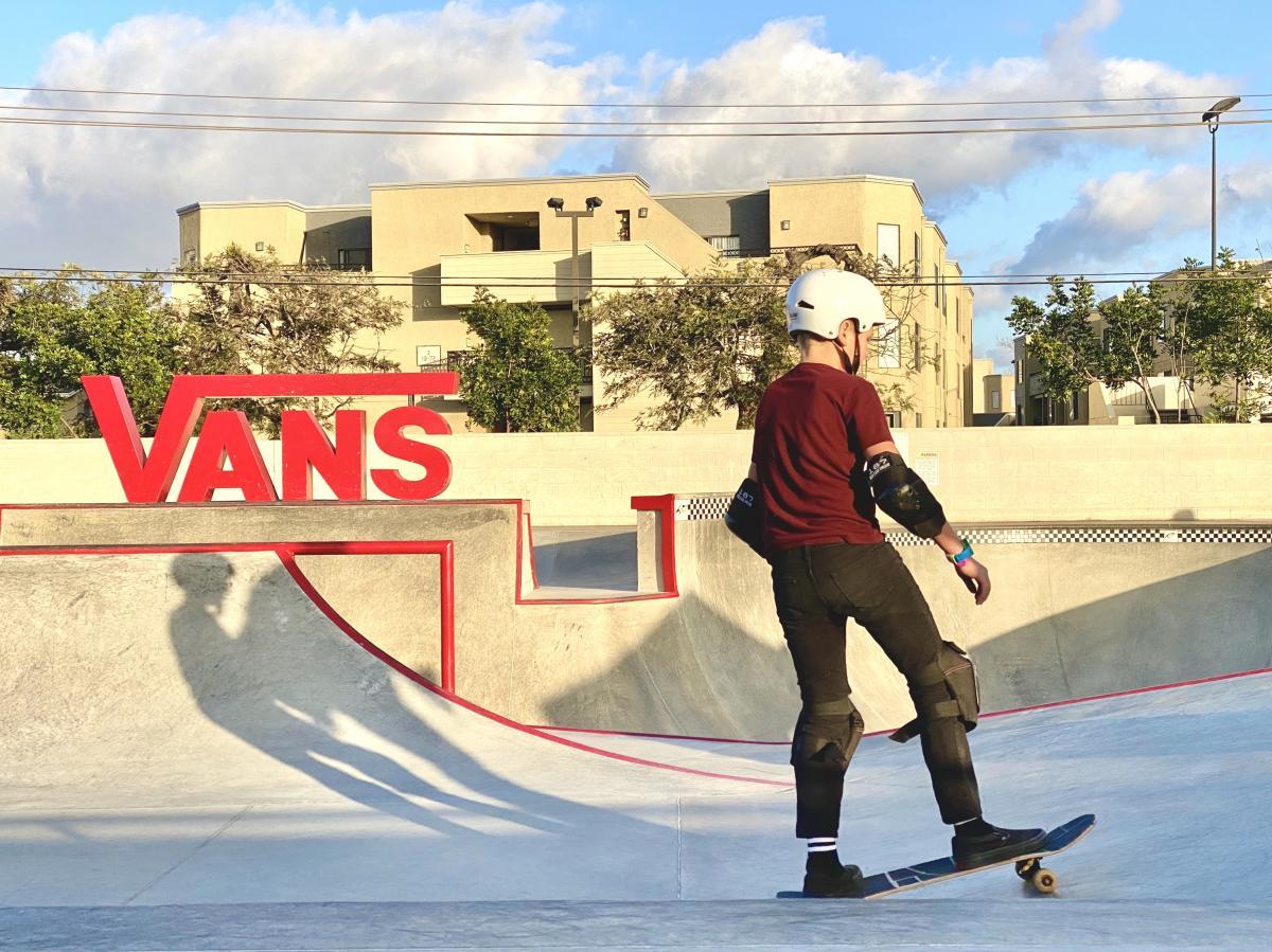 Vans Skate Park in Huntington Beach