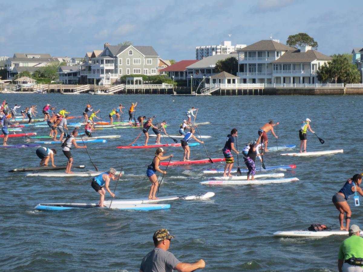 Carolina Cup Standup Paddleboard Race