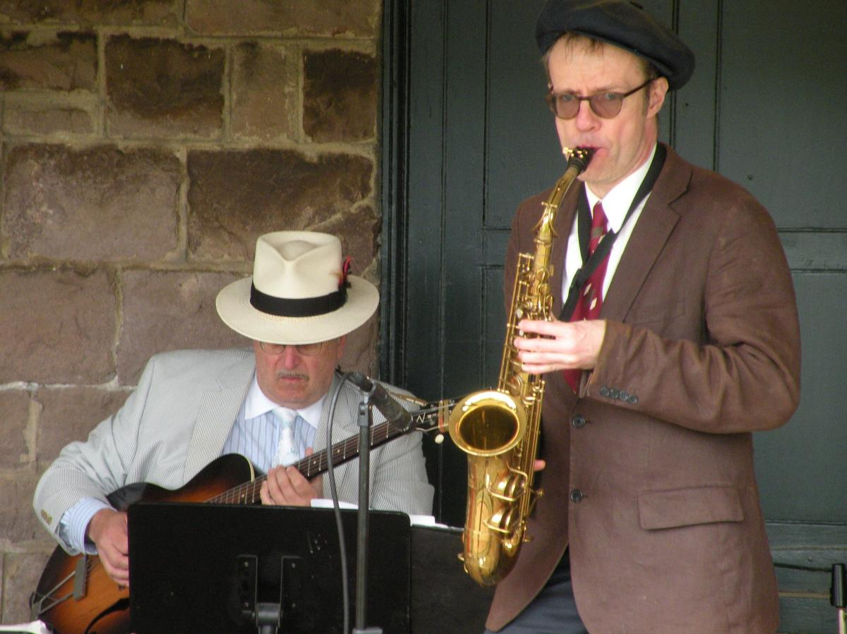 Jazz at the Grundy Museum