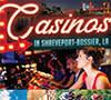 Casino Gaming in Shreveport-Bossier rack card