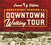 Downtown Shreveport Walking Tour brochure