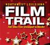 Northwest Louisiana Film Trail rack card