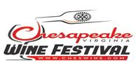 Chesapeake Virginia Wine Festival logo