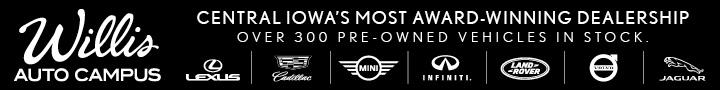 Catch Des Moines - Willis Auto Banner