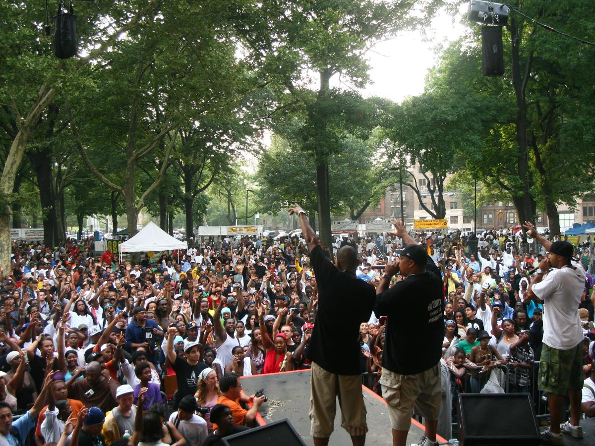 Lincoln Park Music Festival in Newark, NJ