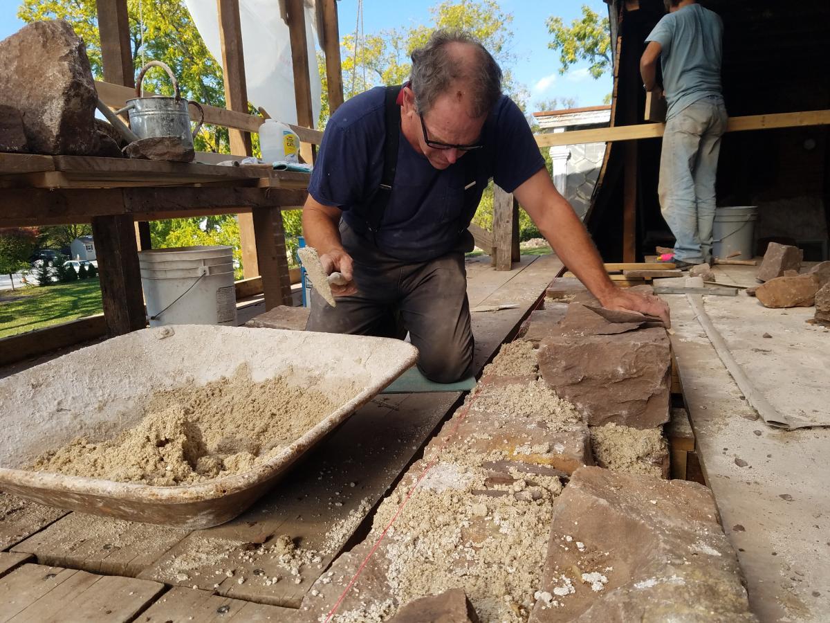 Historic Trappe Stonework