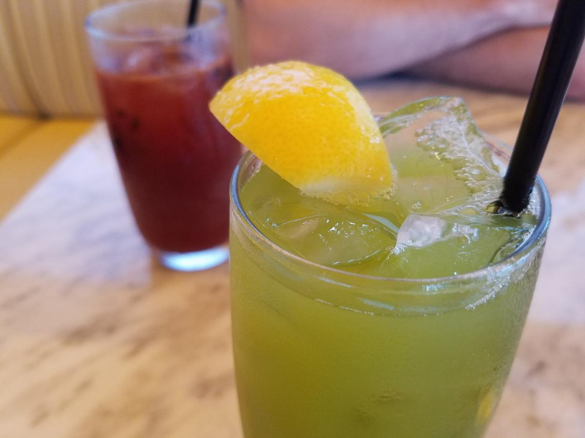 Matcha Lemonade at True Food Kitchen