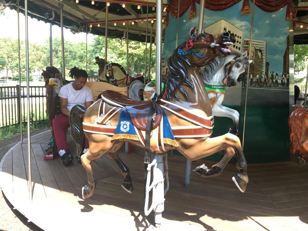 Military Park Carousel
