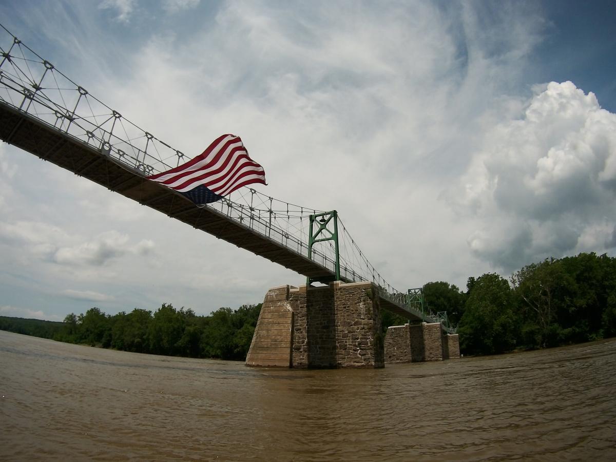 Bridge over the Delaware River