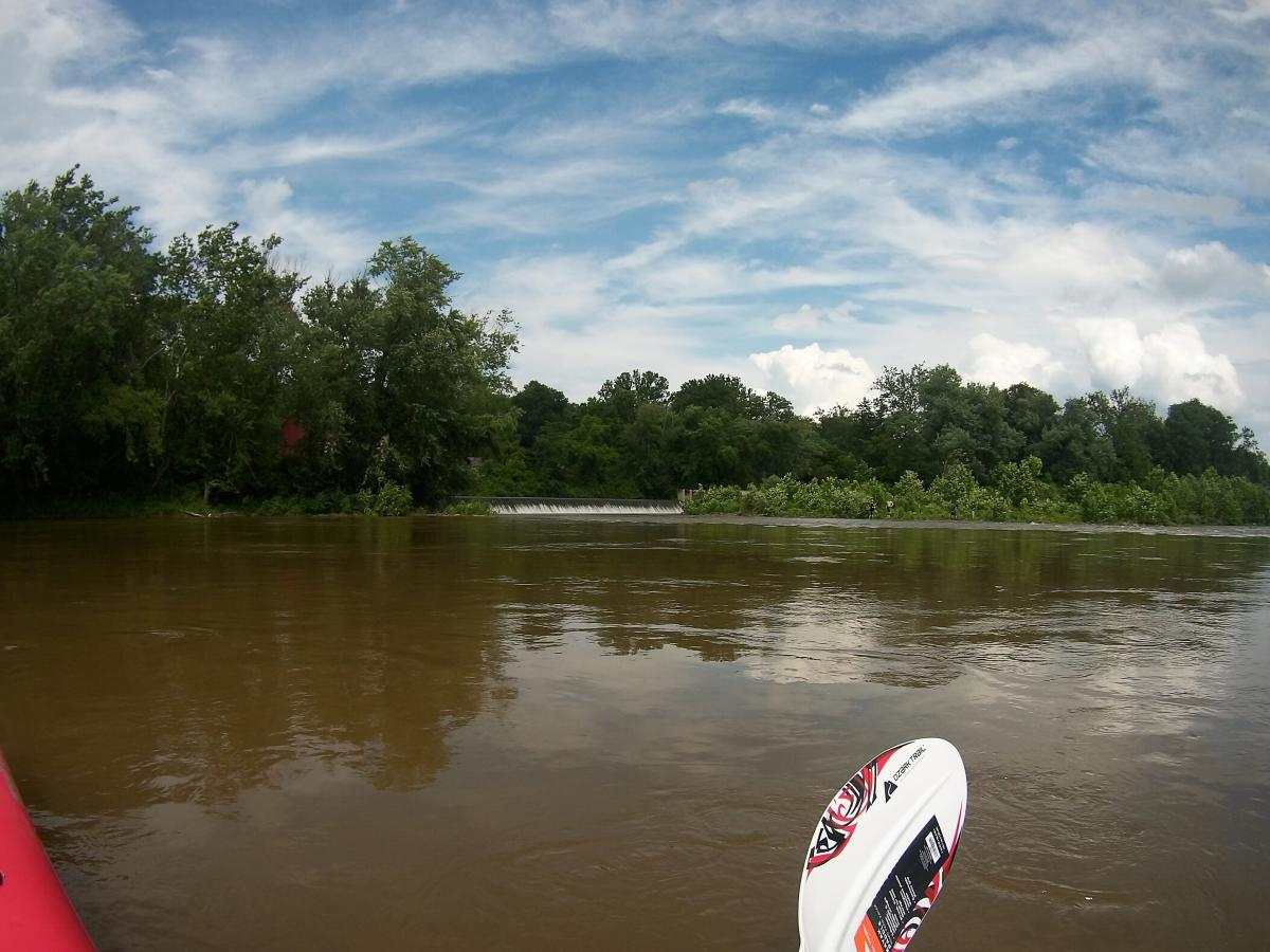 Paddling on the Delaware River