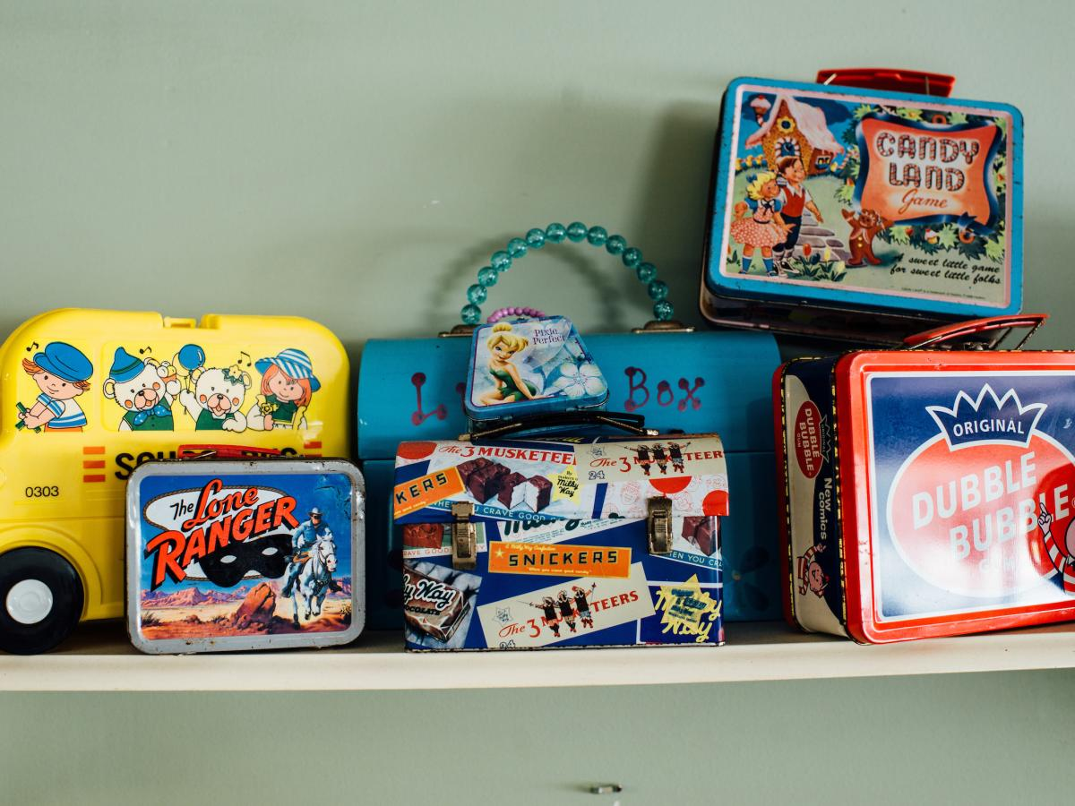 Lunch Box Decor