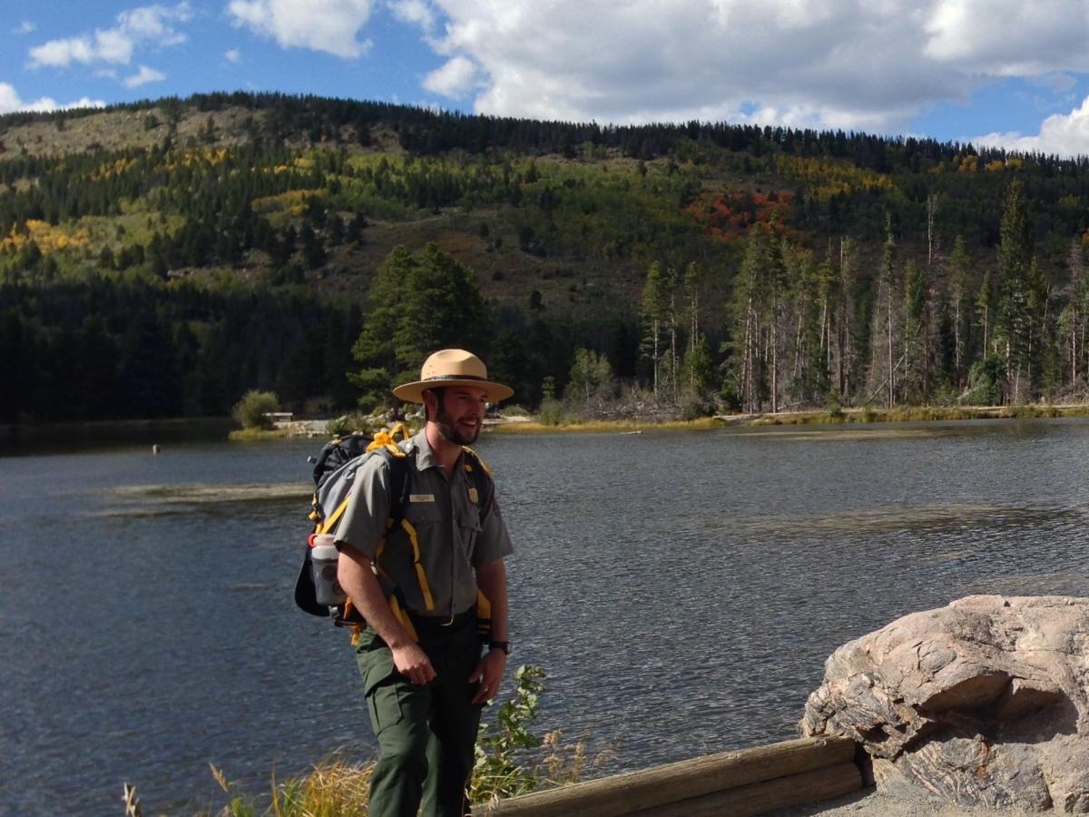 Ranger at Sprague Lake