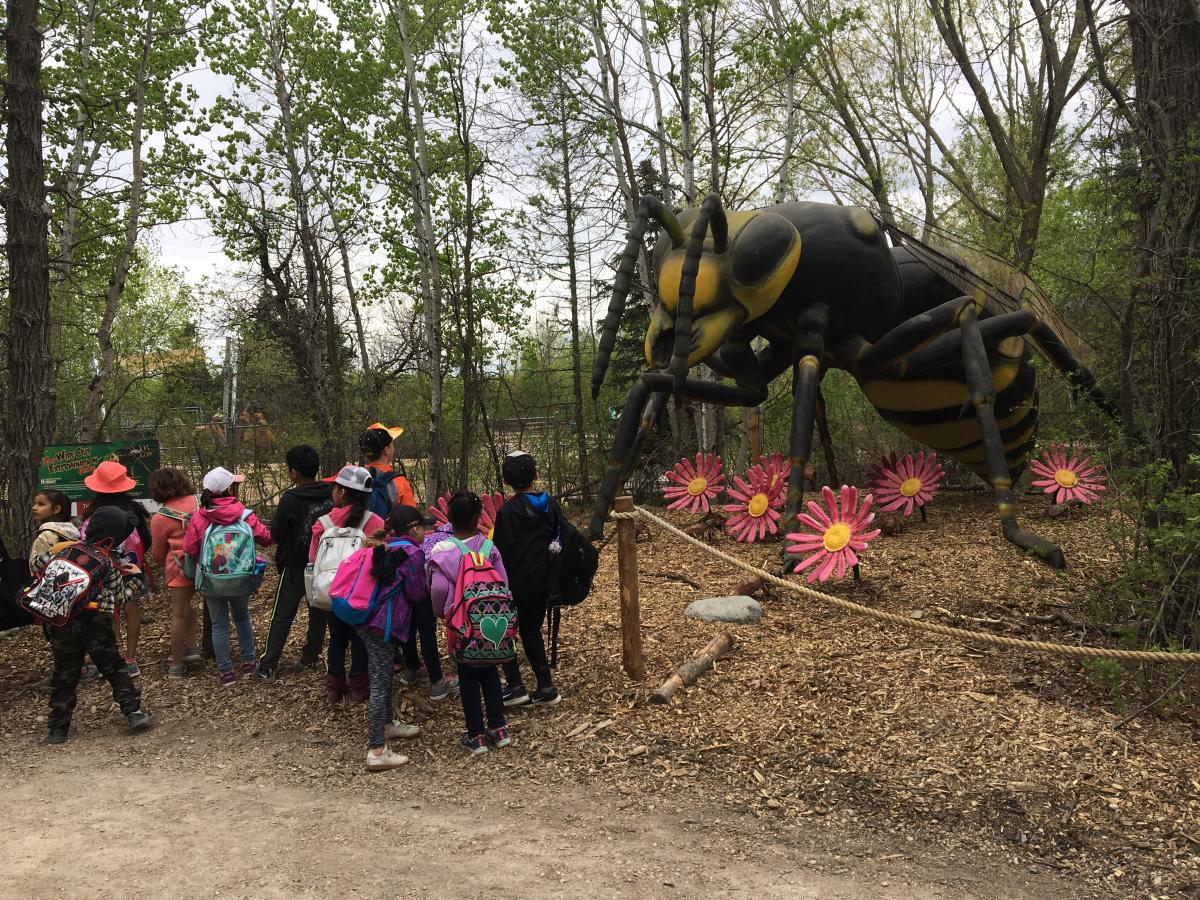 Assiniboine Park Conservancy_Xtreme BUGS_crowd of children_bee