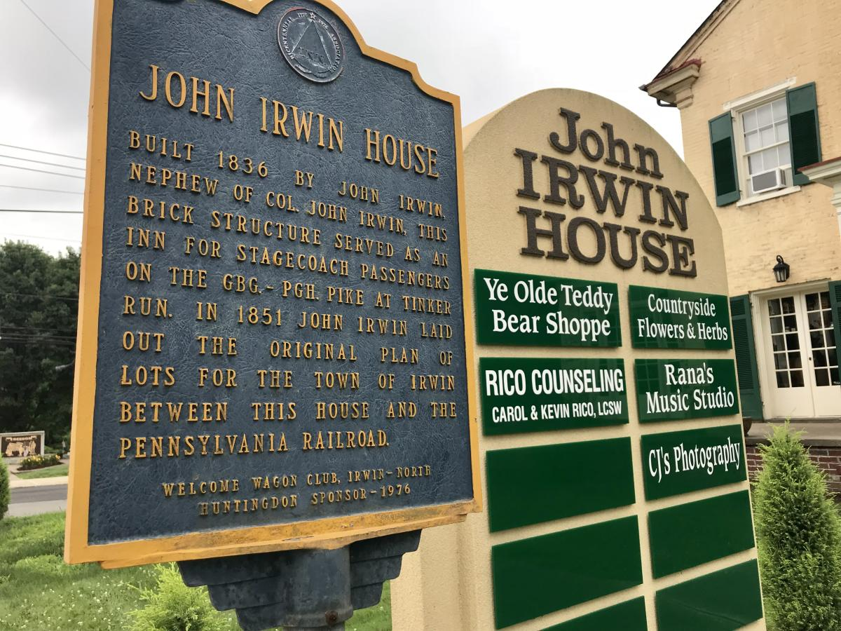 Ye Olde Irwin House