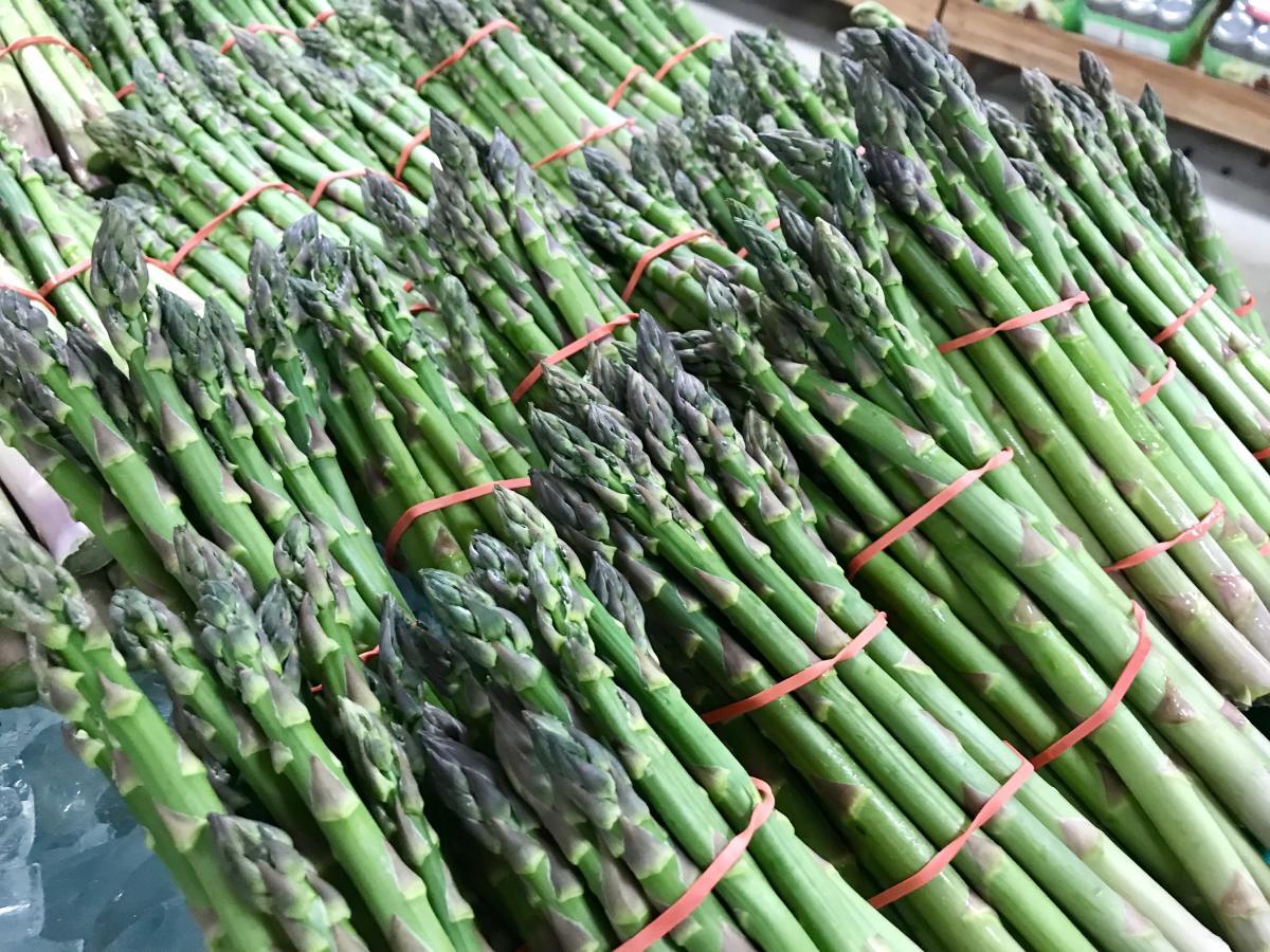 Schramm Farms asparagus