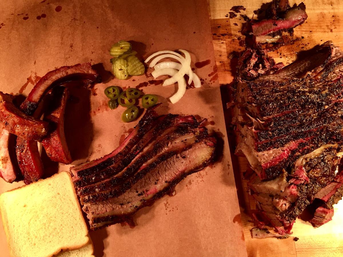 BBQ at Broussard's BBQ