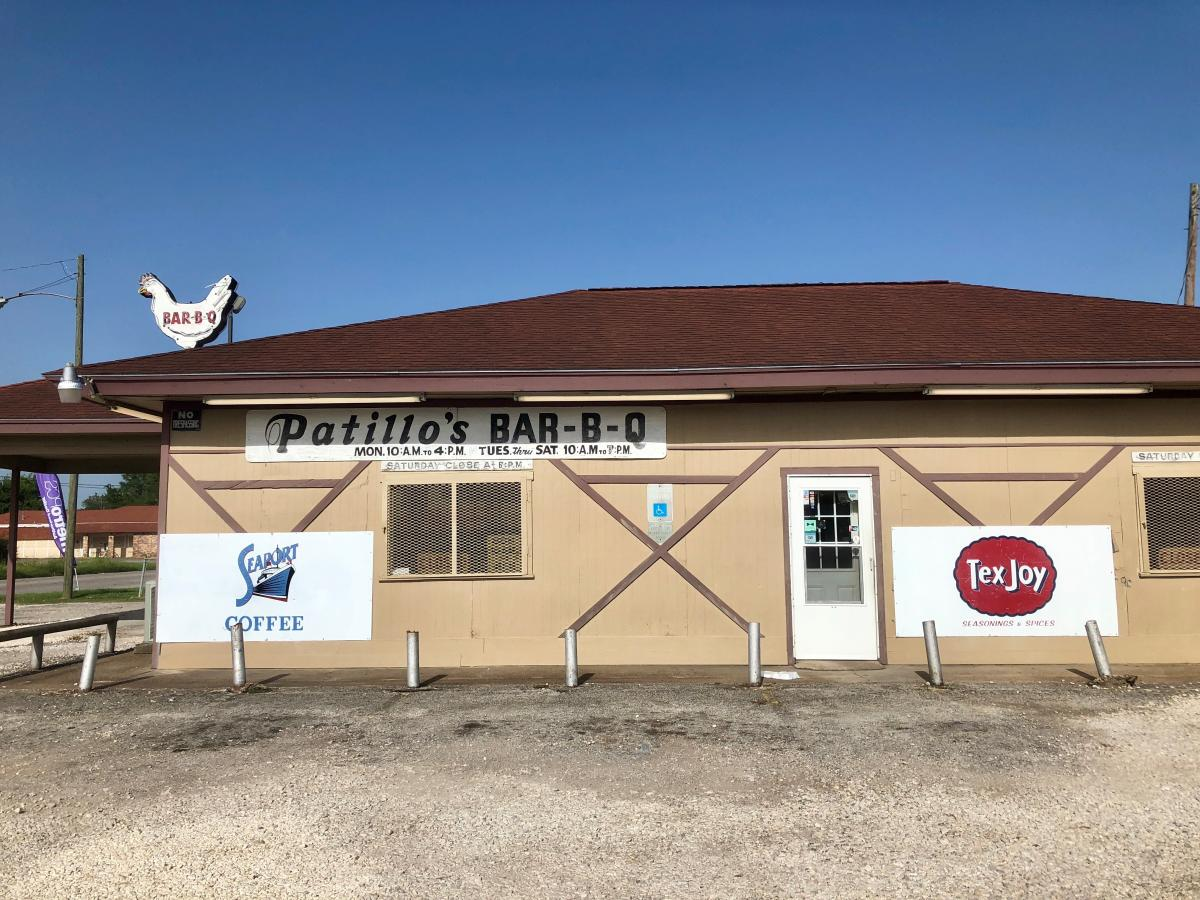 Patillo's Bar-B-Q Exterior