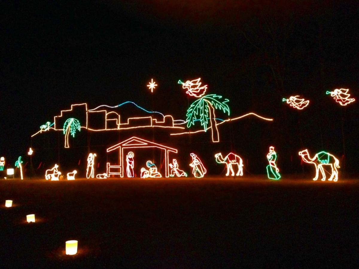 Galaxy of Lights Nativity