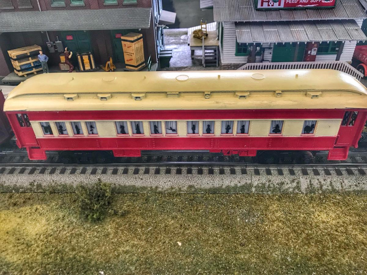 Model Train GVRR Coach