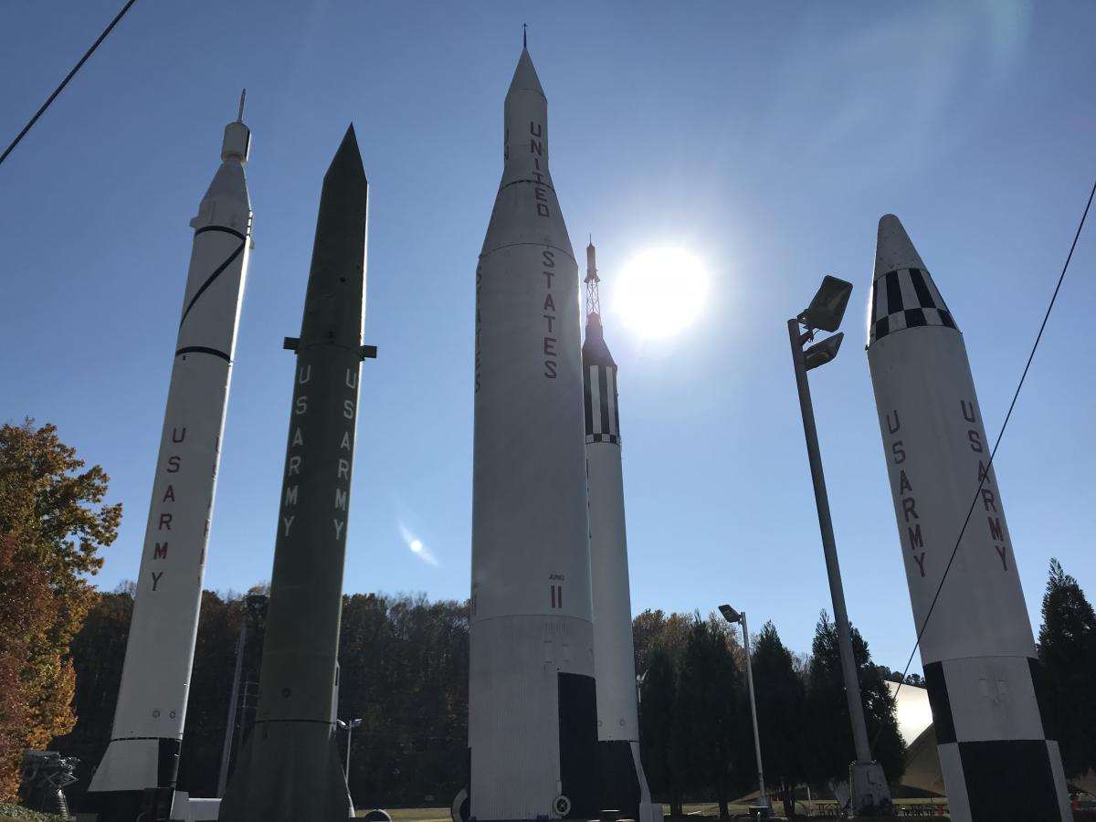 U.S. Space & Rocket Center rocket park
