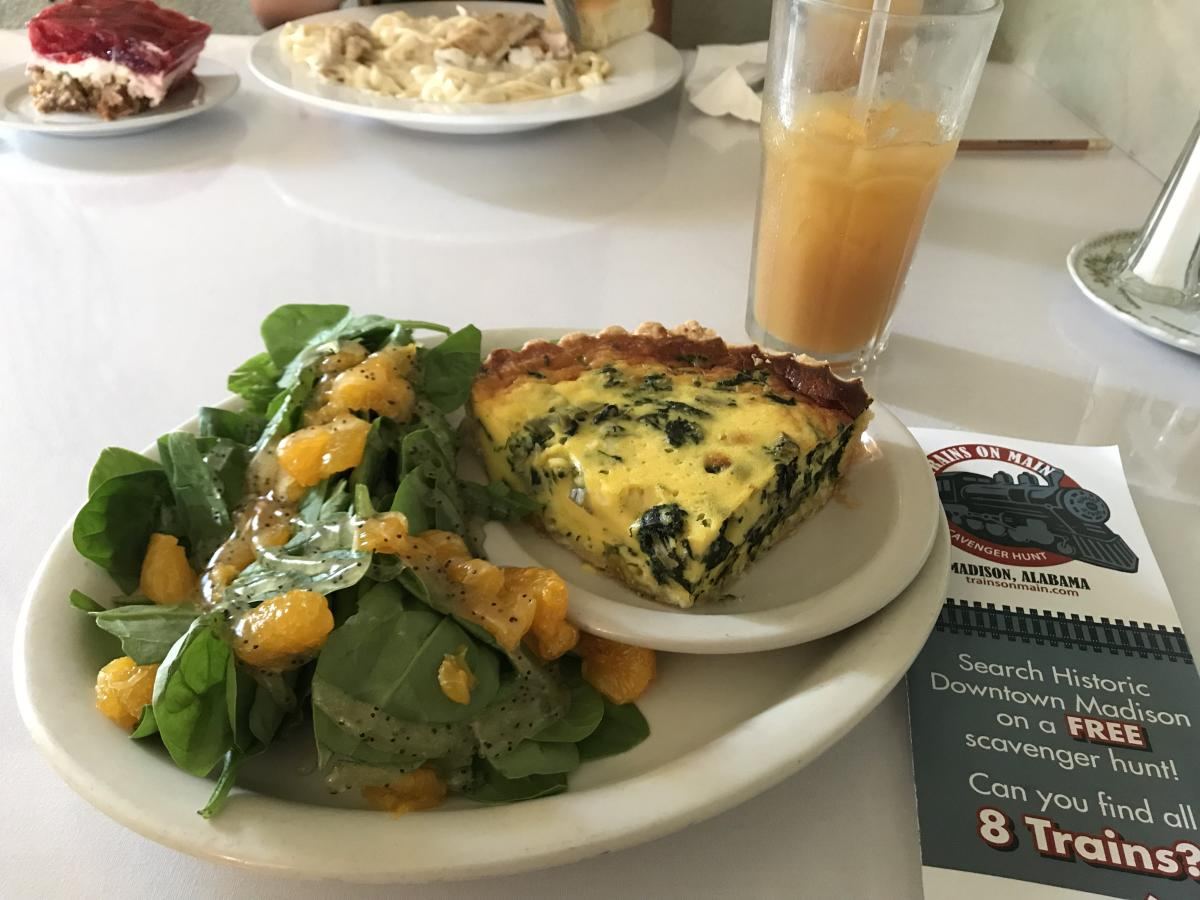 main street cafe quiche
