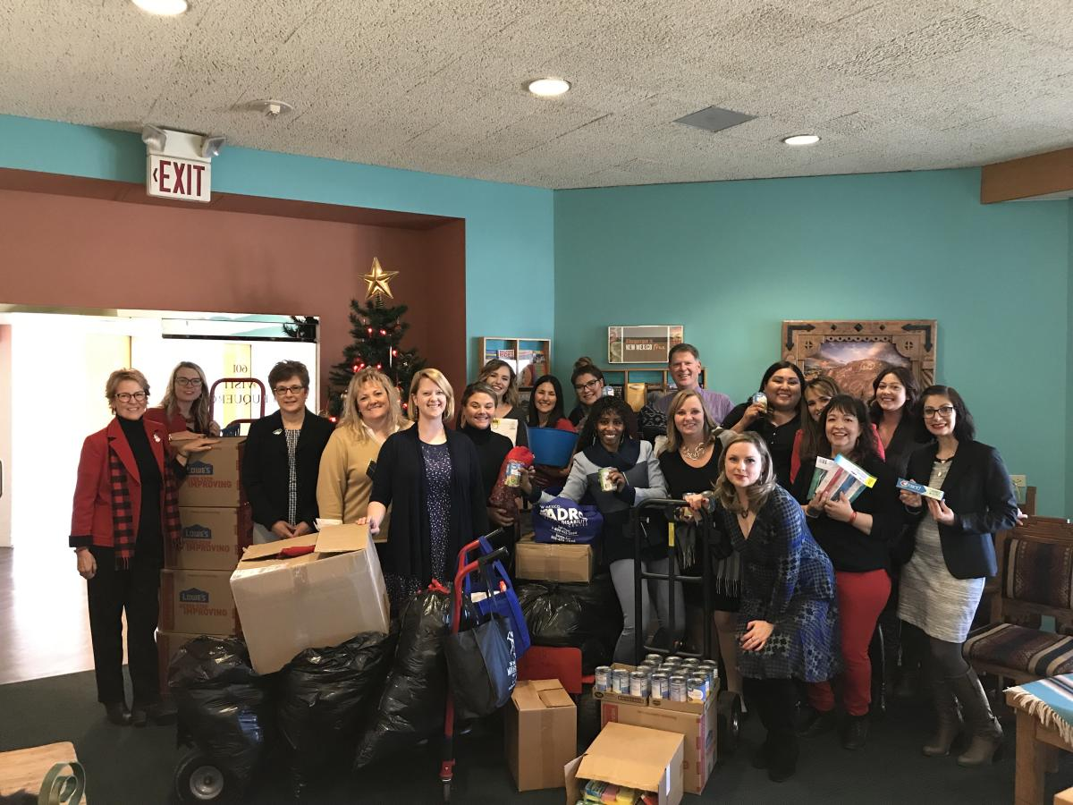 Heading Home Donations 2018 Staff