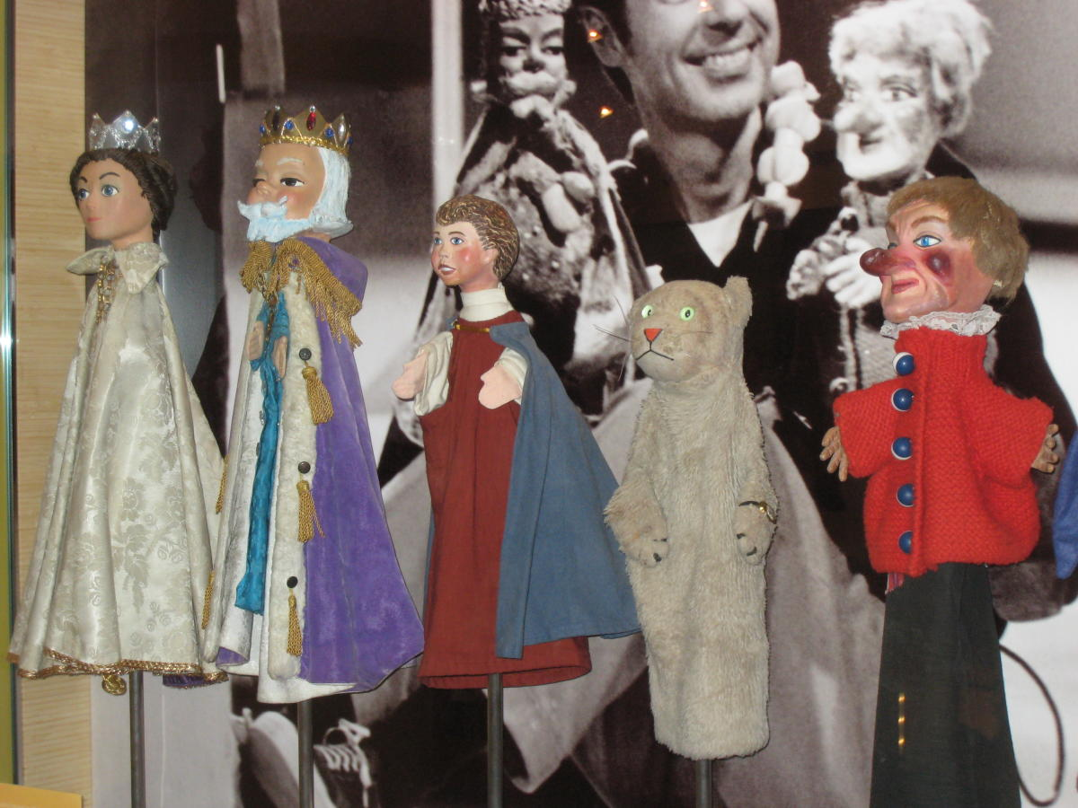 Original puppets at Fred Rogers Center in Latrobe