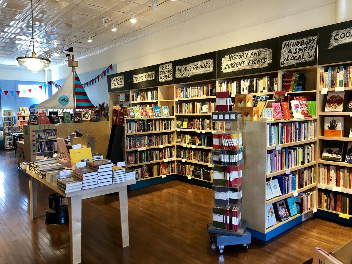 Avid Bookshop at Five Points
