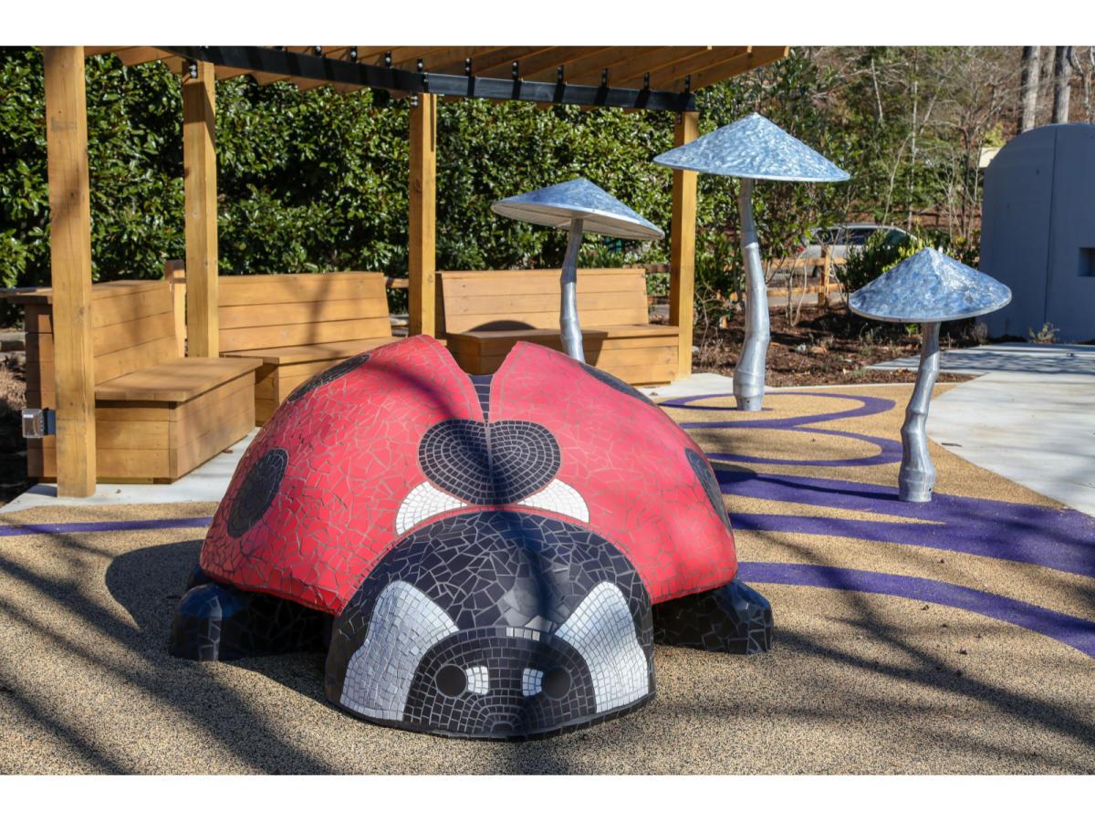 Children's Garden Ladybug