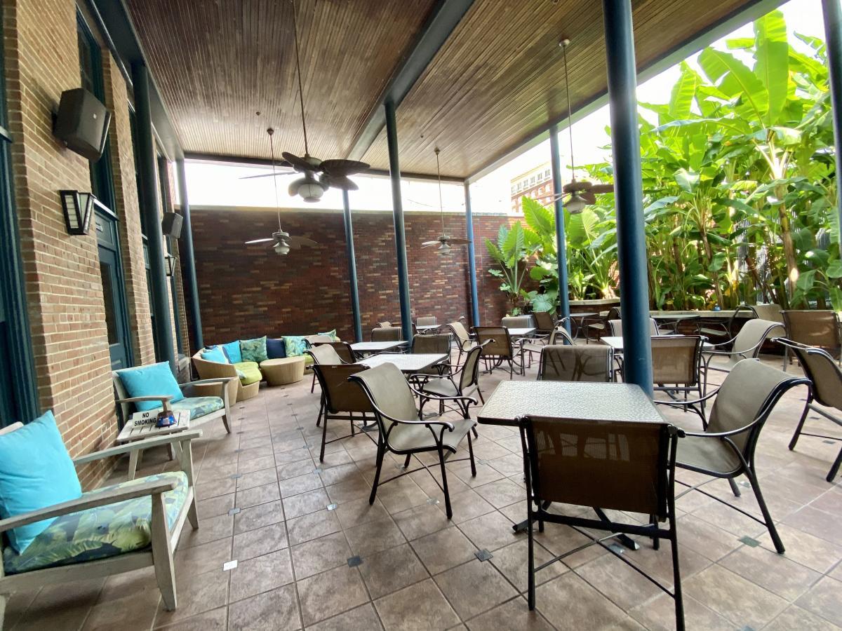 Suga's patio