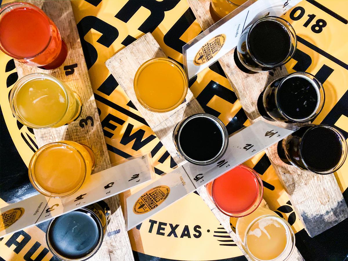 Struggle Street Beer Flights