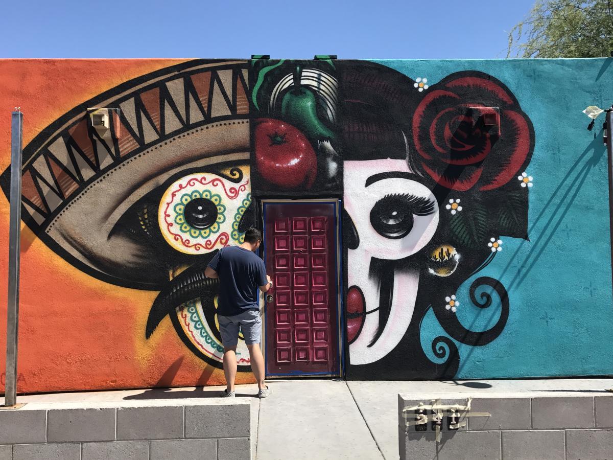 Ghett Yo' Taco by Graffiti Artist Lalo Cota