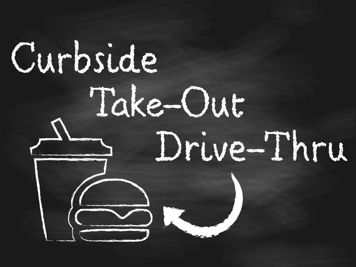 Restaurants offing curbside delivery