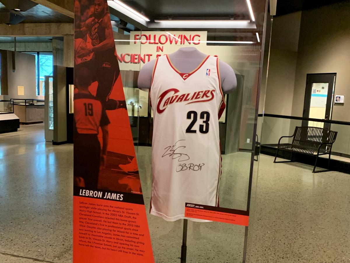 Lebron's Rookie Jersey