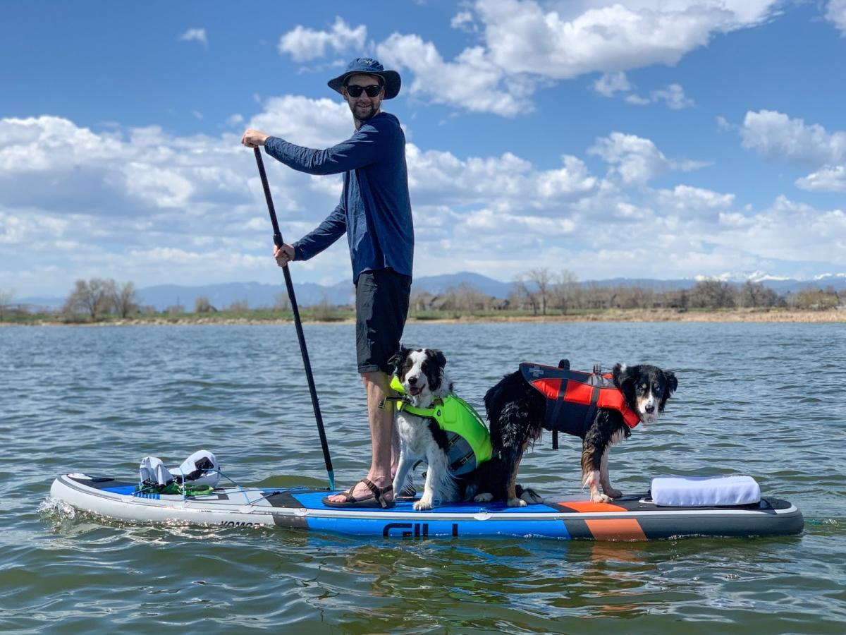 Vallecito Lake Paddleboarding