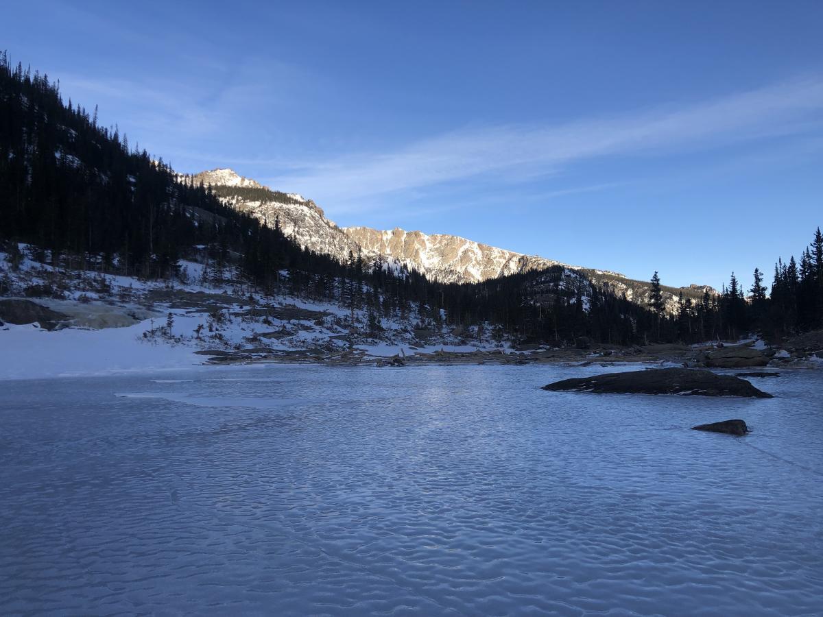 Mills Lake Winter Triathlon