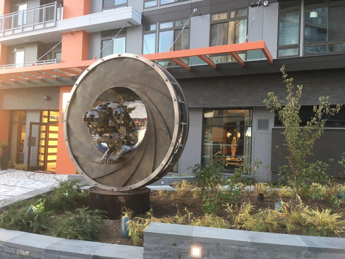 "Reston public art - ""Convergence"""