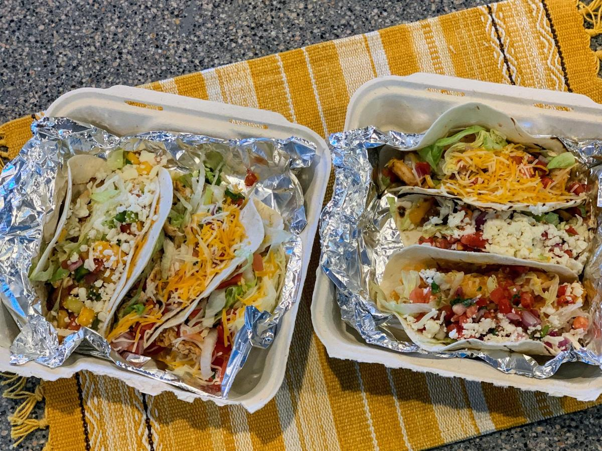 Taco Sampler from Jojos