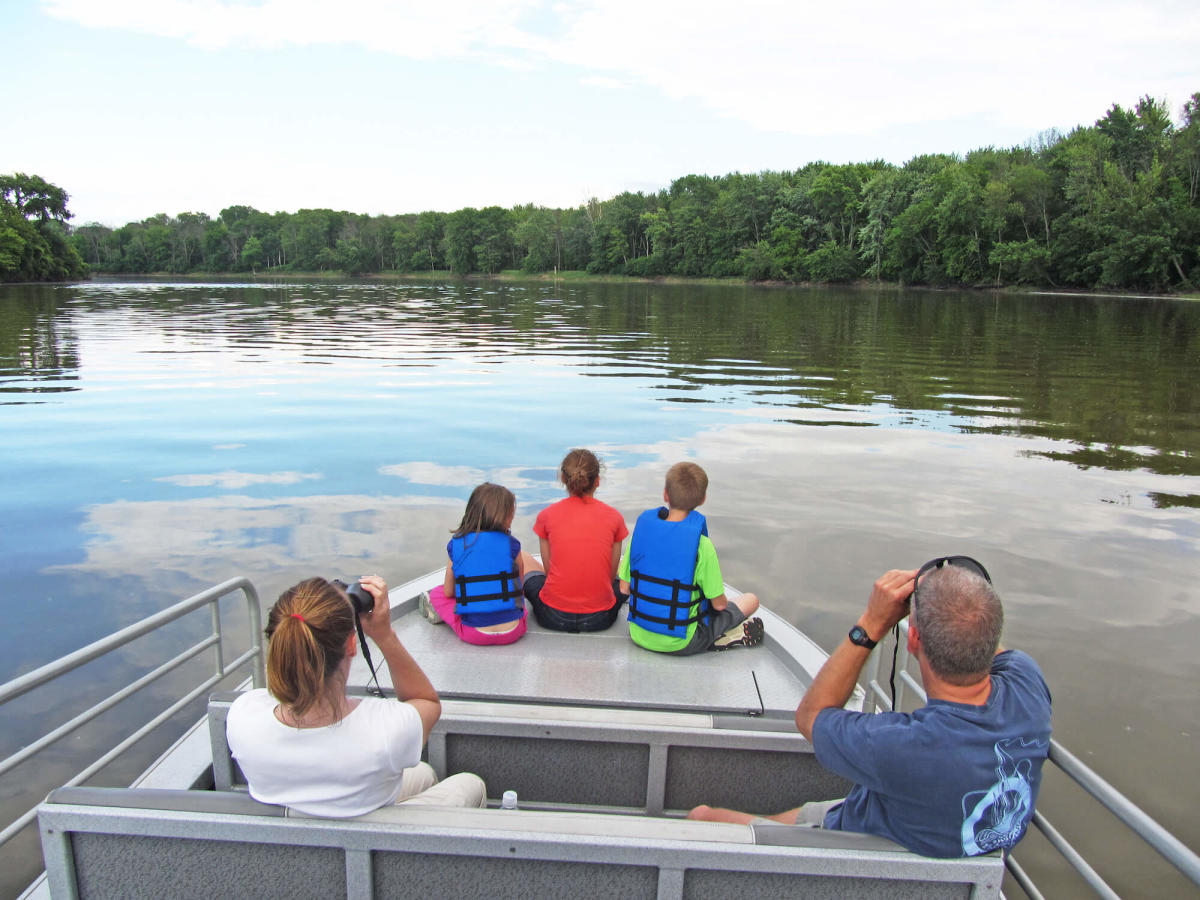 Family Boat Tour with Johnny Panther Quests Adventure Trips