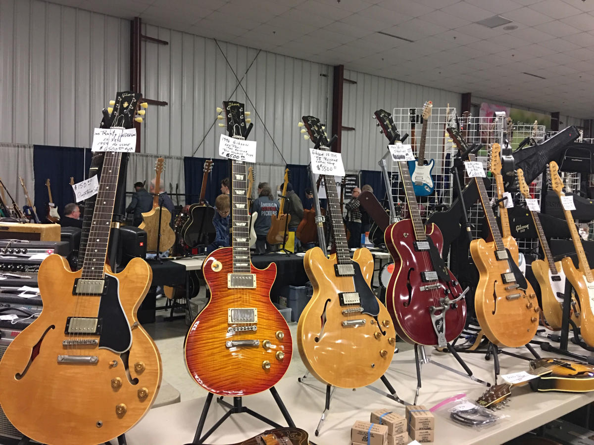 Indy Guitar Show 2018 in Danville, Indiana