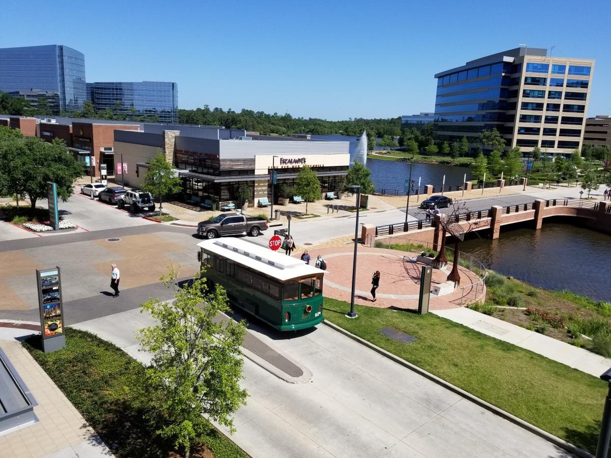 The Woodlands Trolley