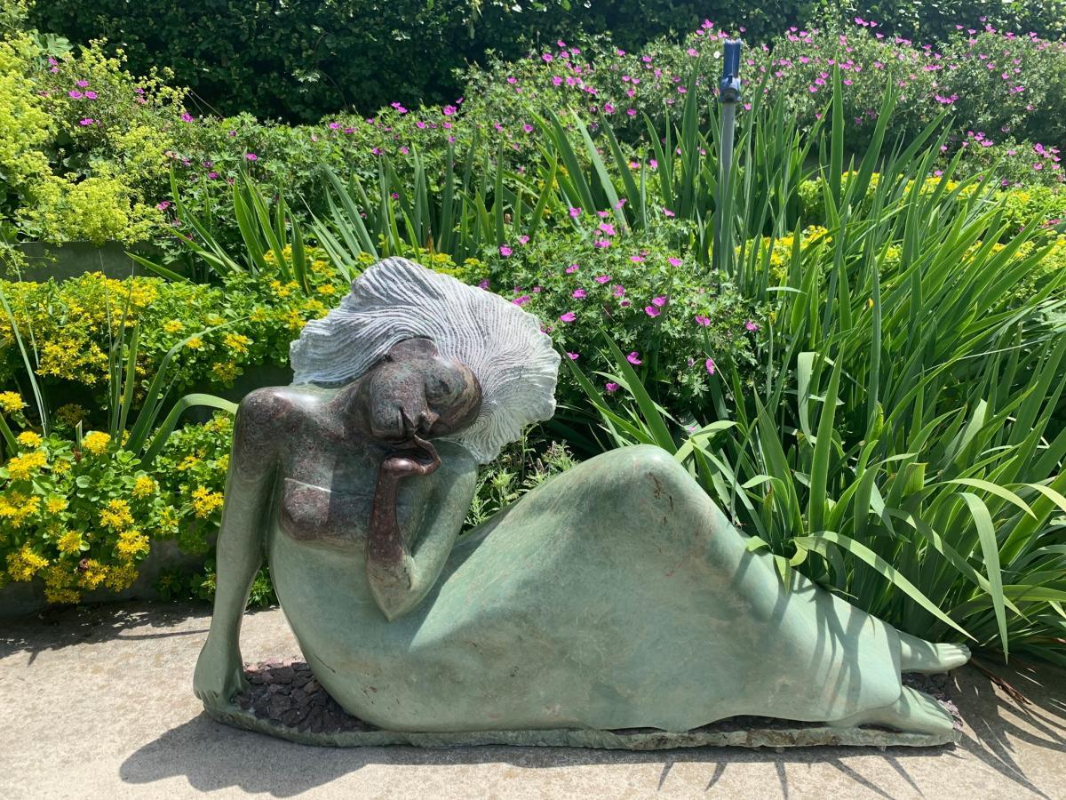 Sculpture at ZimSculpt in Huntsville, AL