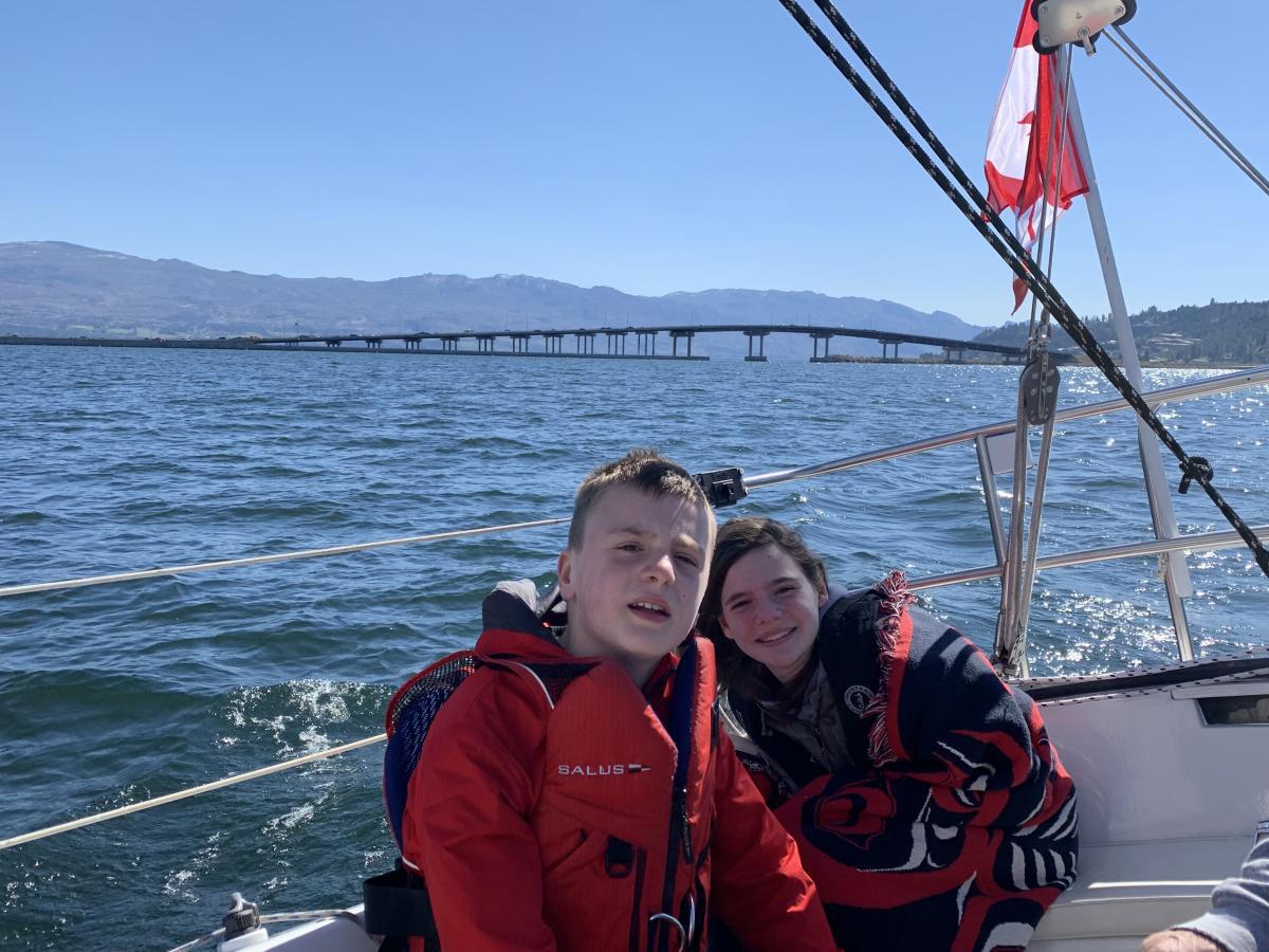 Lisa's Kids on Sailing Tour