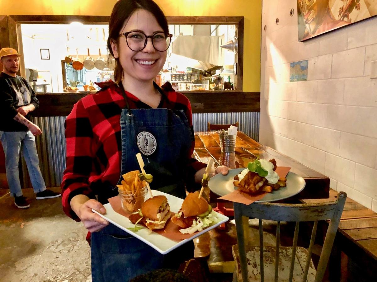 Meiko Koga (Chef) of Provisions at Kettle River Brewing