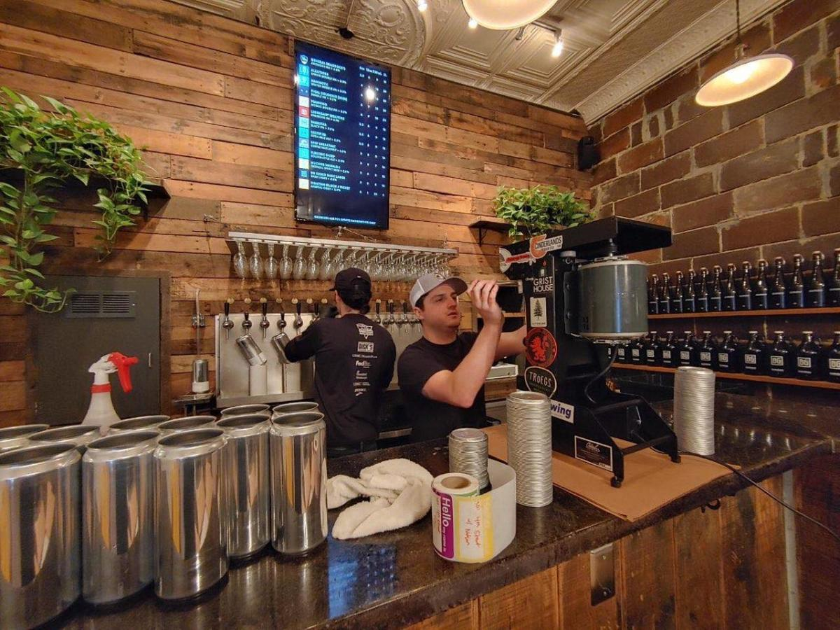 Josh Jones canning at Brew Gentlemen