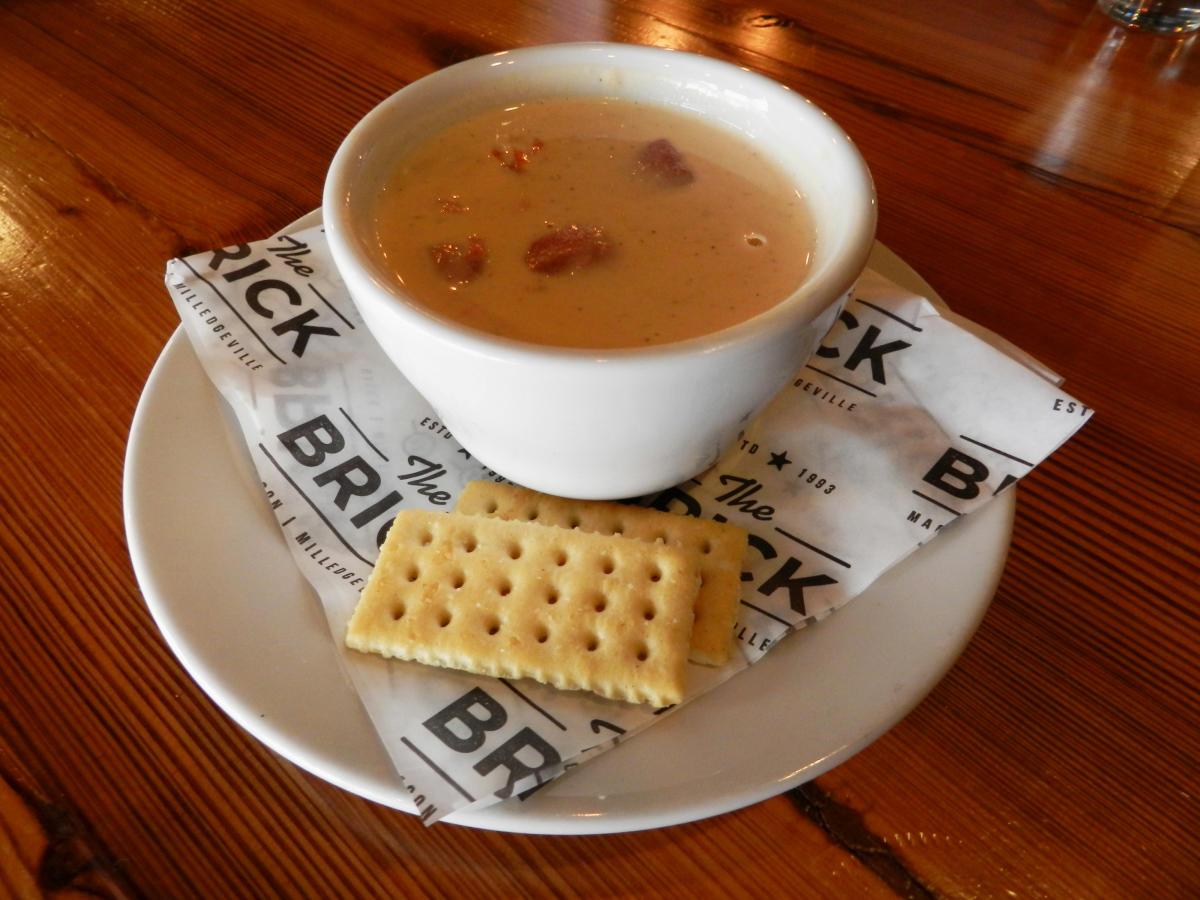 The Brick Tomato Soup