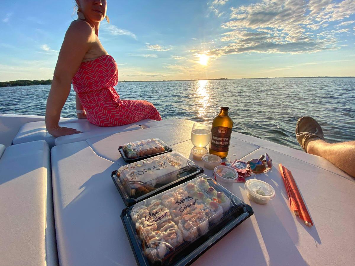 Take Out Sushi Manila