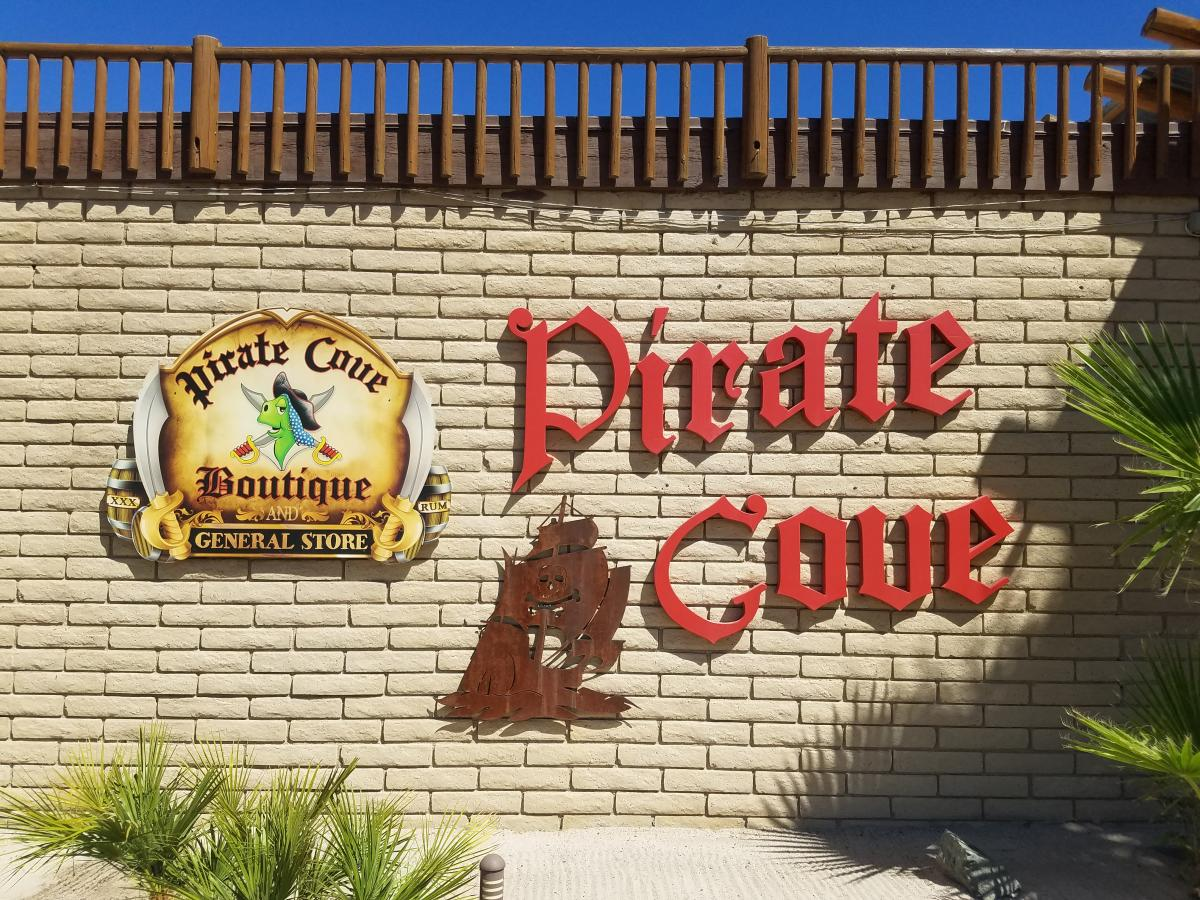 Pirate's cove resort in Needles, California